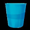 Kosz na śmieci Leitz WOW - niebieski