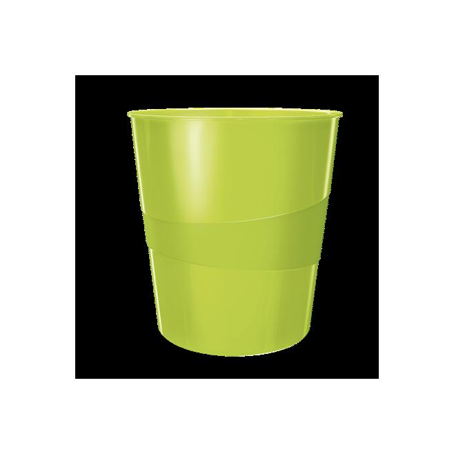 Kosze na śmieci 15L Leitz WOW - zielony