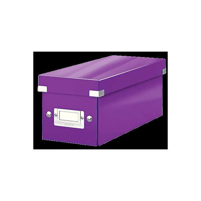 Pudło małe Leitz C&S WOW - fioletowy