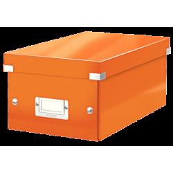 Pudło na DVD Leitz C&S WOW - pomarańczowy