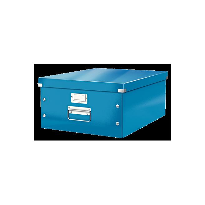 Pudło uniwersalne Leitz C&S A3 WOW - niebieski
