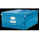 Pudło uniwersalne Leitz C&S A3 WOW - niebieskie