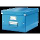 Pudło uniwersalne Leitz C&S A4 WOW - niebieski