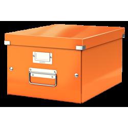 Pudło uniwersalne Leitz C&S A4 WOW - pomarańczowy