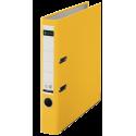 Segregator Leitz 180° z mechanizmem dźwigniowym 50mm - żółty