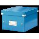 Pudło uniwersalne Leitz C&S A5 WOW - niebieski