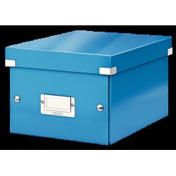 Pudło uniwersalne Leitz C&S A5 WOW - niebieskie