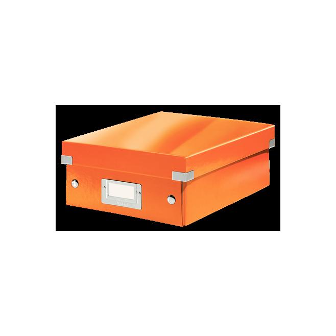 Pudło z przegródkami Leitz C&S - pomarańczowy