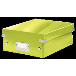 Pudło z przegródkami Leitz C&S, małe - zielone