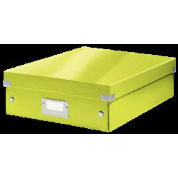 Pudło z przegródkami Leitz C&S, średnie - zielone