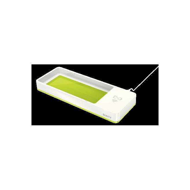 Piórnik z ładowarką indukcyjną Leitz WOW - zielony