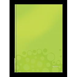 Brulion w kratkę A4 Leitz WOW - zielony