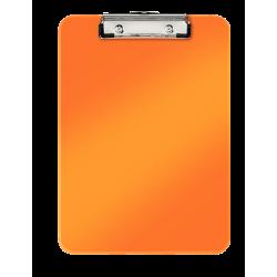 Deska z klipsem Leitz WOW - pomarańczowy