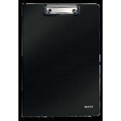 Deska z klipsem i okładką Leitz Solid A4 - czarna