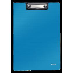 Deska z klipsem i okładką Leitz Solid A4 - jasnoniebieska