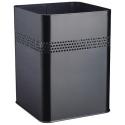 Kosz na śmieci Durable 18,5l - metalowy - czarny