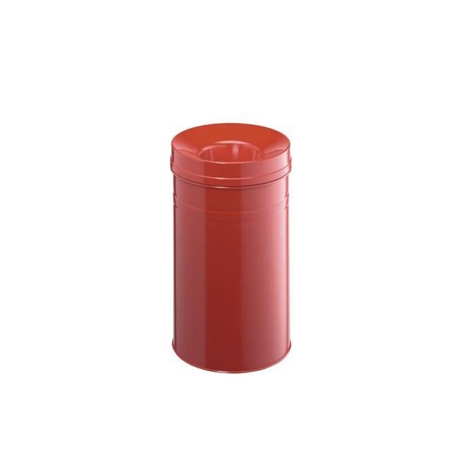 Kosz na śmieci Safe+ - czerwony