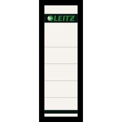 Etykiety grzbietowe Leitz 57x190/10szt. - szare