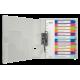 Przekładki PP Leitz WOW A4 Maxi 1-12 z możliwością zadruku
