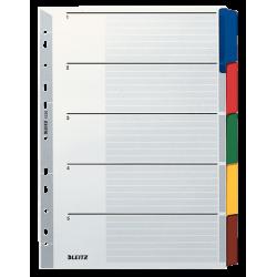 Przekładki kartonowe Leitz A4, 5 kart