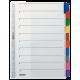 Przekładki kartonowe Leitz A4, 10 kart
