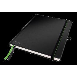 Notatnik Leitz Complete w formacie iPada w kratkę, oprawa twarda - czarny