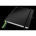 Notatnik Leitz Complete w formacie iPada w linie, oprawa twarda - czarny