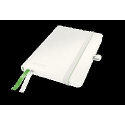 Notatnik Leitz Complete A6 w linie, oprawa twarda - biały