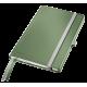 Notatnik Leitz Style A5 w kratkę, oprawa twarda - seledynowy