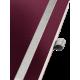 Notatnik Leitz Style A5 w kratkę, oprawa miękka - ciemnoczerwony