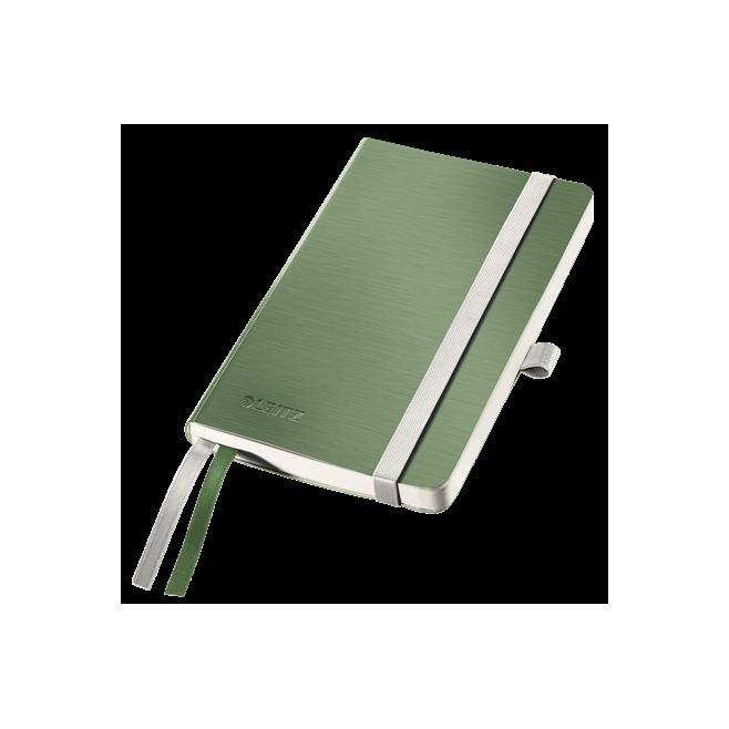 Notatnik Leitz Style A6 w kratkę, oprawa miękka - seledynowy