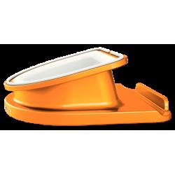 Podstawka obrotowa pod iPad/tablet, Leitz Complete - pomarańczowa