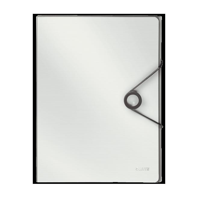 Teczka z gumką PP Leitz Solid, 30 mm - biała