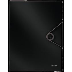 Teczka z gumką PP Leitz Solid, 30 mm - czarna