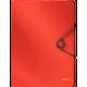 Teczka z gumką PP Leitz Solid, 30 mm - jasnoczerwona