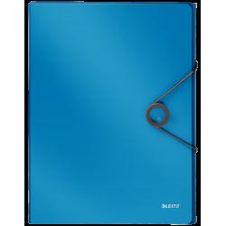 Teczka z gumką PP Leitz Solid, 30 mm - jasnoniebieska