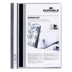 Skoroszyt prezentacyjny Duraplus - jasnoszary