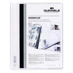 Skoroszyt prezentacyjny Duraplus - biały