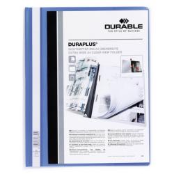 Skoroszyt prezentacyjny Duraplus - niebieski