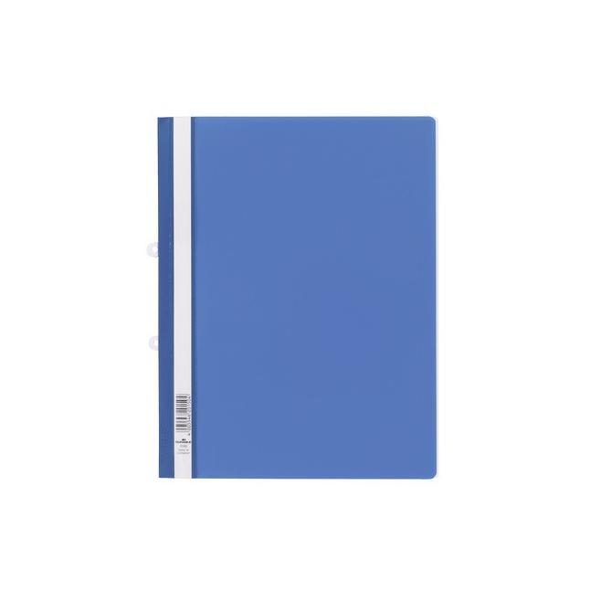 Skoroszyt z możliwością wpięcia do segregatora - niebieski