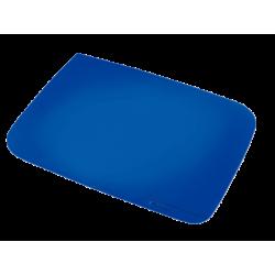 Mata na biurko Leitz Plus 500x650 mm - niebieska