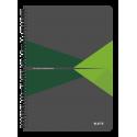 Kołonotatnik Leitz Office A4 w kratkę - szaro-zielony