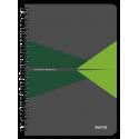 Kołonotatnik Leitz Office A5 PP, w linie - szaro-zielony
