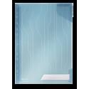 Folder Leitz Combifile 5szt. - transparentny niebieski