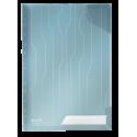 Folder Leitz Combifile usztywniony 3szt. - transparentny niebieski