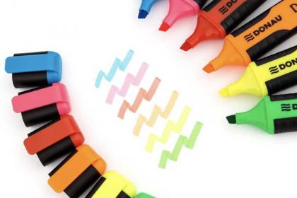 Zakreślacze i pisaki - efektowne i efektywne wsparcie w nauce