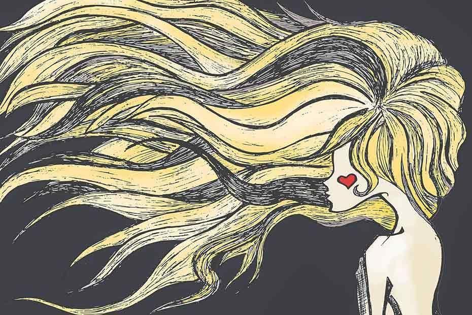 Jak narysować włosy?