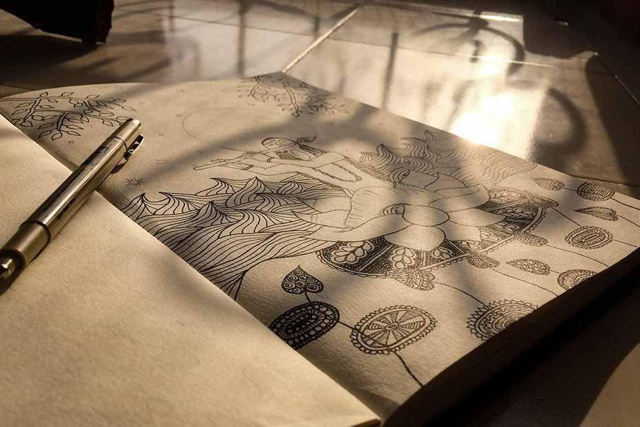 Czym jest Zentangle? Jak rysować?